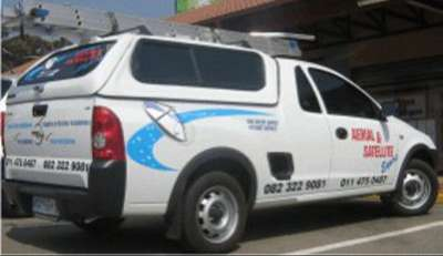 Vehicle branding Arial & Satellite